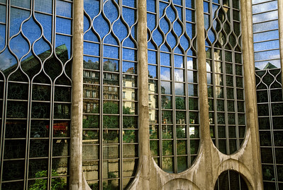 Reflections in the Rouen Church Catherdral