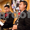A mariachi band member sings at Día de la Virgen de Guadalupe feast day and mass, celebrated at St. Peter Claver Parish in Tyler, Texas, on Tuesday, Dec. 12, 2017. Día de la Virgen de Guadalupe honors the belief that Jesus' mother Mary, Mexico's patron saint, appeared to Juan Diego in Mexico City in 1531. (Chelsea Purgahn/Tyler Morning Telegraph)