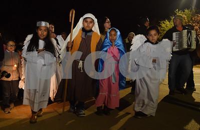 12/20/16 Las Posadas at St. Peter Claver Catholic Church by Sarah A. Miller