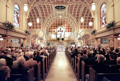 It was standing room only during the ordination mass at the Cathedral of St. Peter in Wilmington.photo/Don Blake