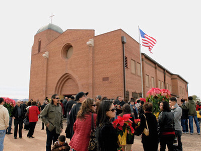 2012-12-25 Christmas Day Mass at Braun Sacred Heart
