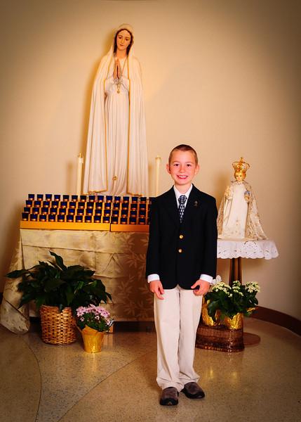 2012 1st Eucharist Rehearsal OLF