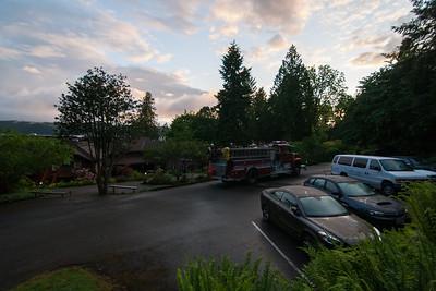 5:15am fire drill.