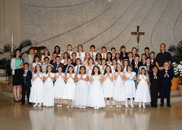 2015 First Eucharist OLF
