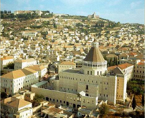 Базилика Благовещения в центре Назарета