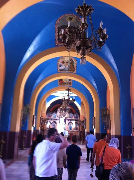 В храме святой Троицы