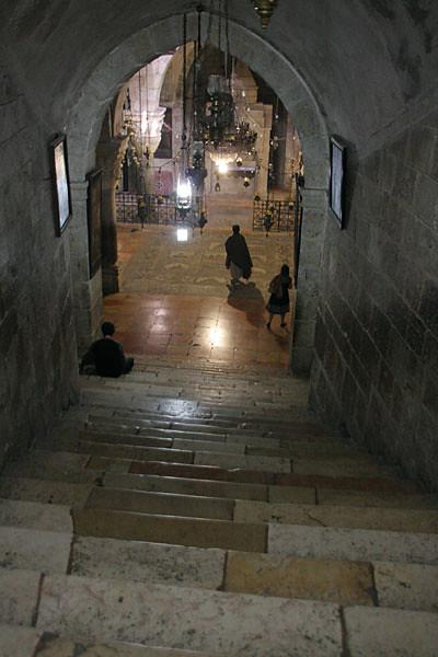 Вход в Храм св. Константина и  Елены