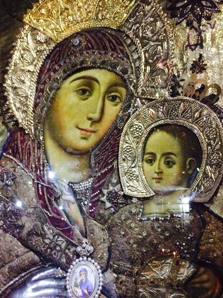 Вифлеемская икона Божьей Матери