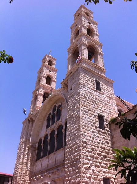 Храм св. Фатинии над колодцем Иакова