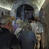 Проход в крипту храма к источнику Приснодевы