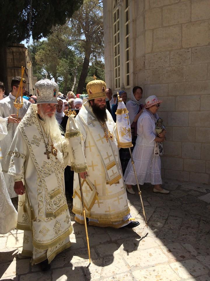 С архиепископом Берлинско-Германским и Великобританским Марком