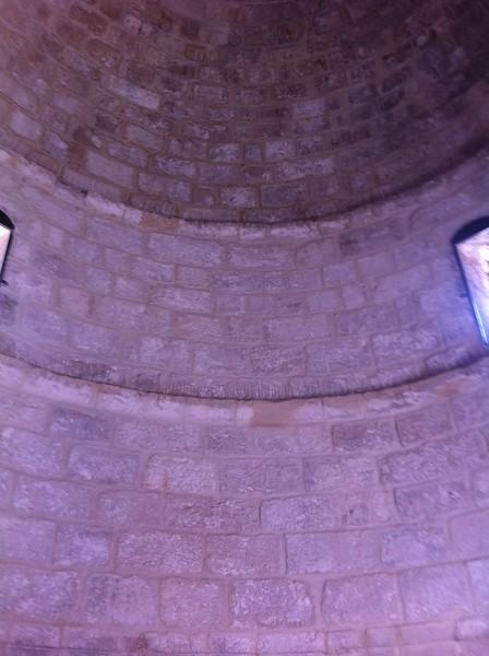 Купол часовни Вознесения Господня
