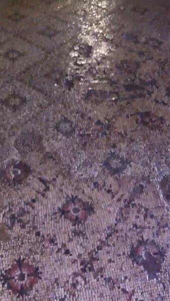 сохранившаяся мозаика IV века