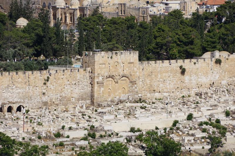 Золотые ворота. Мусульманское кладбище