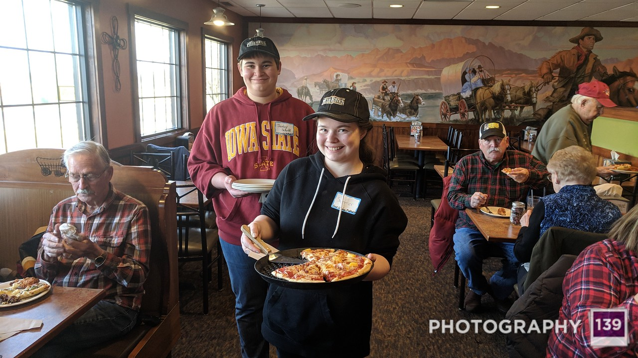 Pizza Ranch Fundraiser - Spring 2018