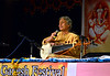 Ustad Amjad Ali Khan and his sons perform a Hindustani Classical Music Concert  during the the Philadelphia Ganesh Festival at Bharatiya temple in Montgomery Township on Friday September 10,2013. Photo by Mark C Psoras
