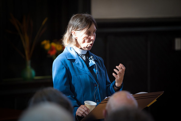 Reverend Cynthia Bourgeault  Photo by Tom Whittington