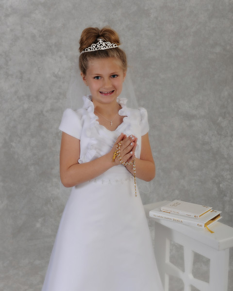 Angelina's 1st Holy Communion