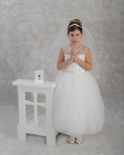 Audrey's 1st Holy Communion