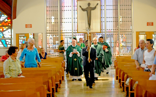 BISHOP SULLIVAN CELEBRATES A GREEN MASS AT ST. PADRE PIO PARISH, VINELAND NJ. 07/17/13