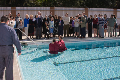 Baptism of Aris Gostantian PUC Pool