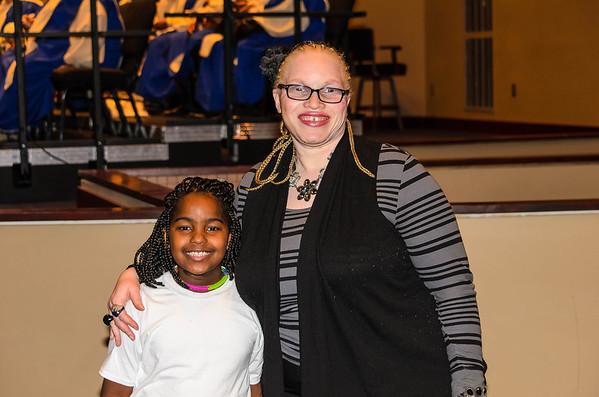 Baptism of Ms. Janae Wilburn at Guiding Light Church 1/12/2014