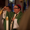 on November 19, 2013. On his first day as the fourth bishop of the Catholic Diocese of Fort Worth, Bishop-elect Michael Olson celebrated Mass at St. Patrick Cathedral, answered media questions, and visited Our Mother of Mercy Catholic School.
