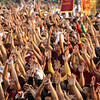 MANILA. Millions of Filipinos gather in Manila for the annual feast of the Black Nazarene at Quiapo district on Thursday. (John Carlo Cahinhinan/Sunnex)