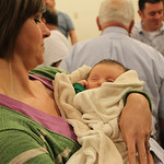 Young Bluegrass Gospel fans of all ages attended.