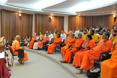 Acharyas (abroad) Conference, May 19-23 at Chinmaya Vibhooti, Post Kolwan, Taluka Mulashi, Pune - 412 108, Maharashtra. India.