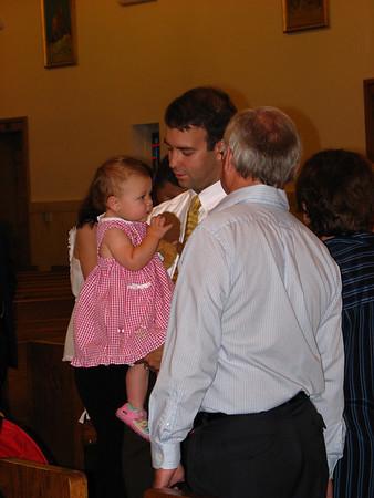 Camryn's Baptism July 8, 2007
