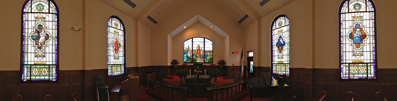 CFUMC Panorama Pictures Interior and Exterior.
