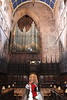 The east side of the cathedral organ.<br /> Carlisle Cathedral <br /> 25 July 2015