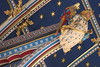 Angel on the ceiling of the chancel.<br /> Carlisle Cathedral <br /> 25 July 2015
