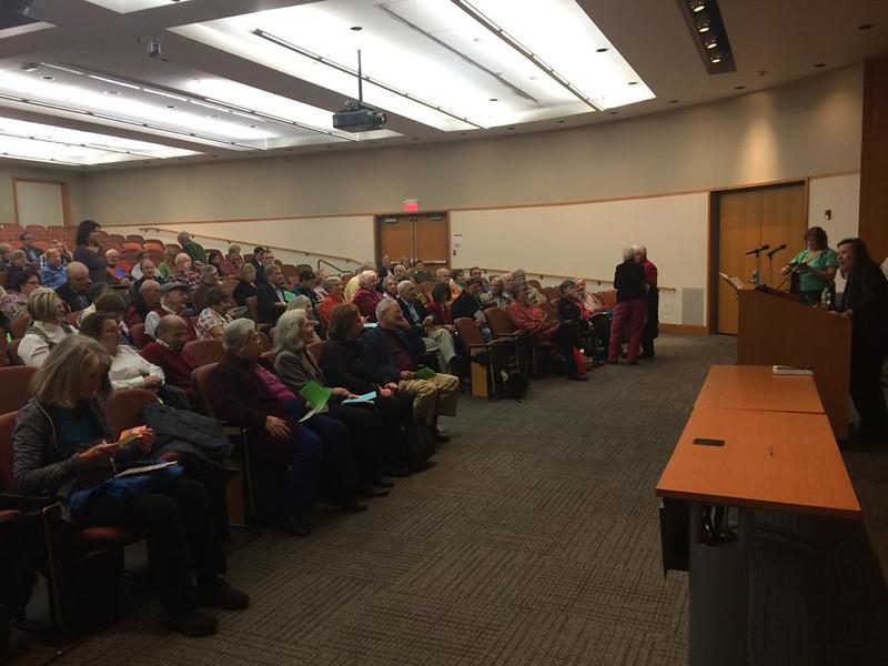 Regina Bannan introduces Fr. Tony in Philadelphia