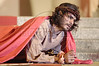 Brazilian actor Thiago Lacerda plays Jesus in the passion play of Nova Jerusalem, in Brazil's Northeastern state of Pernambuco.(Australfoto/Douglas Engle)