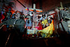 Jesus is depicted crucified during the Good Friday passion play in the Rocinha slum of Rio de Janeiro, Brazil, April 10, 2009. Passion plays are performed across Brazil during Holy Week, especially in the poor northeast, where the Catholic faith runs deep. Brazil is the largest Catholic country in the world. (Australfoto/Douglas Engle)