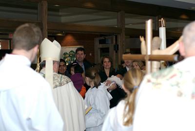 Cecilia Rougeux\'s baptism