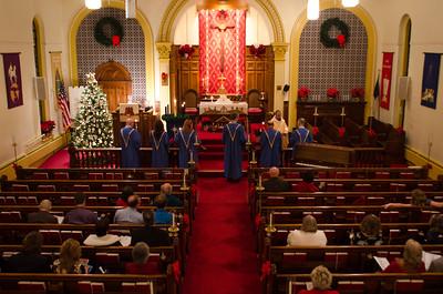 Cedar Lutheran Church Christmas Eve 2014