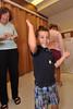 Ryan celebrates as Kathy cheers