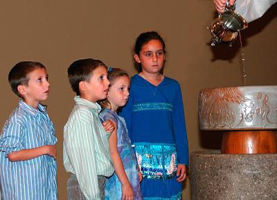 Cherubs and Baptism 11-06