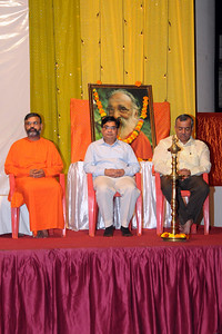 """Shraddha Ki Shakti"" (Faith Moves Mountains) Talk by Swami Tejomayanandaji of Chinmaya Mission. The talk was based on 17th Chapter of Bhagvad Geeta.  Geet Gnana Yagna discourse in Hindi from 4th to 8th March, 2009 at Olympia Gardens, Hiranandani Gardens,  Powai, Mumbai"