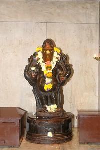 Sandeepany Sadhanalaya, Powai, Mumbai 7th Sep, 2005. Auspicious Ganesh Chaturthi day.