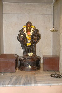 Sandeepany Sadhanalaya, Powai, Mumbai (7th Sep, 2005) on the auspicious Ganesh Chaturthi day.