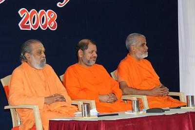 Welcome message at Chinmaya Mission's Aacharya Conference, July 2008 held at Chinmaya Vibhooti Vision Centre, Kolwan (near Lonavala/Pune), Maharashtra, India.