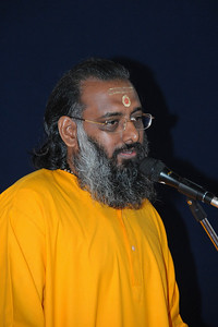 Welcome message at Chinmaya Mission's Aacharya Conference, July 2008 held at Chinmaya Vibhooti Vision Centre, Kolwan (near Lonavala/Pune), Maharashtra, India.