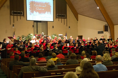 Choral Music Society, Christmas concert