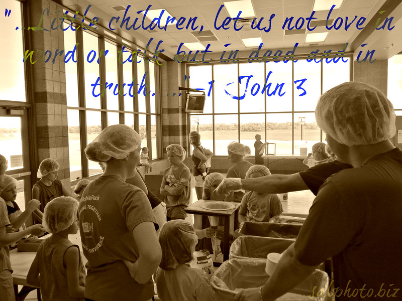 """1 John 3:18 <br /> Little children, let us not love in word or talk but in deed and in truth. <br /> <br /> <a href=""""https://www.biblegateway.com/passage/?search=1%20John%203&version=ESV"""">https://www.biblegateway.com/passage/?search=1%20John%203&version=ESV</a><br /> <br /> <a href=""""https://www.openbible.info/topics/actions_speak_louder_than_words"""">https://www.openbible.info/topics/actions_speak_louder_than_words</a><br /> <br /> <a href=""""https://goodnewseverybodycom.wordpress.com/2018/02/15/deep-thought-how-to-show-love-throughout-the-year/"""">https://goodnewseverybodycom.wordpress.com/2018/02/15/deep-thought-how-to-show-love-throughout-the-year/</a>"""