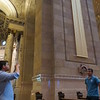 St. Paul Cathedral (friends visiting from Brazil) in downtown St. Paul (Saturday, May 7th 2016) after the evening mass (5:15p-6:15p)