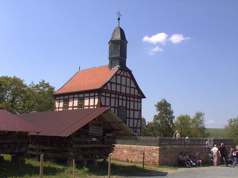 Old Church in Hessen Park, Germany
